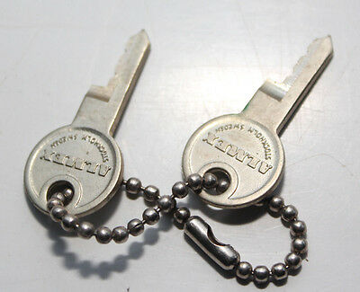 ALMEX Ticket Machine Keys x 2