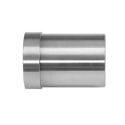 Handrail End Cap 42mm Circular Stainless Steel Metal Staircase Bannister Rail