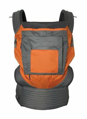Onya Baby Outback Baby Carrier, Burnt Orange/Slate Gray