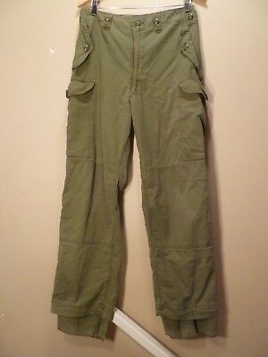 Genuine Canadian Army Lightweight  Combat Pants Trousers OD Green Size 7332 NEW!
