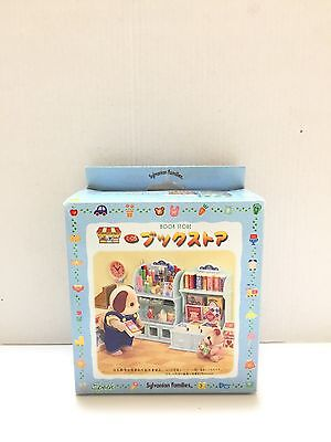 1998 Sylvanian Families JP(Calico Critters US) Book Store Set Complete With Box