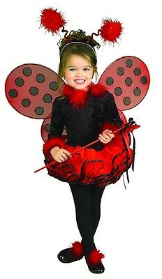 Lady Bug Deluxe Leotard Tutu Dress Costume Child Toddler Small
