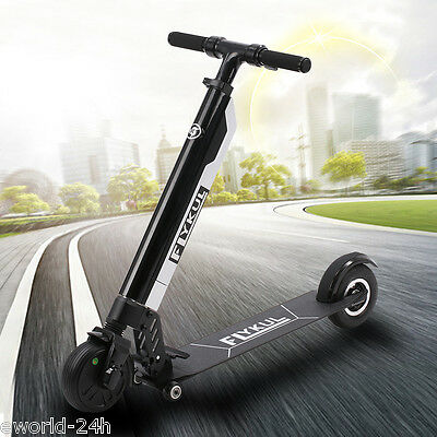 Foldable Electric Kick Scooter 350W Motors 3-Gear Speeds Max 30km/h With Battery