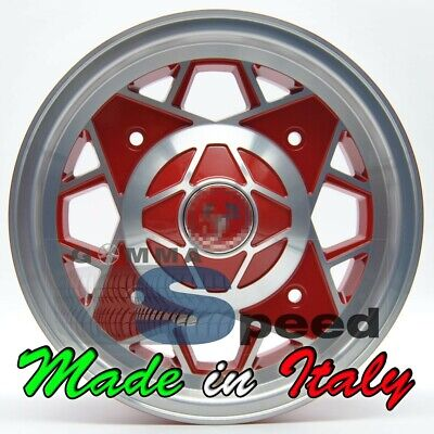 "Set 4 Cerchi in lega per Fiat 500 d'epoca Abarth da 12"" 4x190 500 OLD 574 MWP"