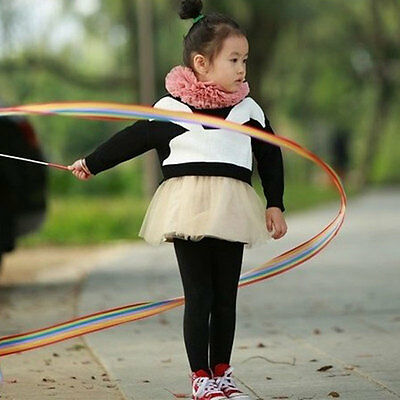 Coloured Ribbon Art Ballet Motion Dance Performance Alternative Children Toys