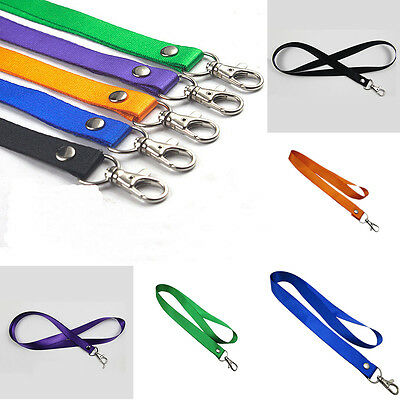 1Pcs Neck Straps Lanyards Safety Breakaway For Mobile Phone ID Card Key chain