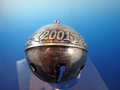 2001 Wallace Silverplate Silver Plate Sleigh Bell