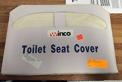 Winco Toilet Seat Covers 250count , Lot Of 39 Units, Large Group