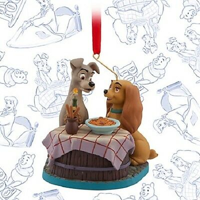 Disney Store Sketchbook Ornament Lady And The Tramp June 2016 Le Of 1000 Nib