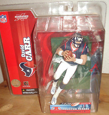 David Carr McFarlane Series 7 Houston Texas  figure  2003 Variant Chase Nfl