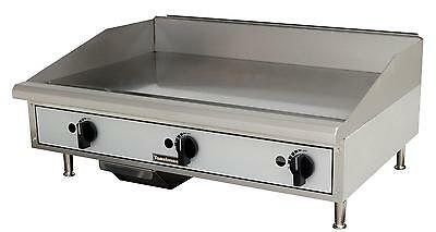 "Toastmaster TMGM36 Countertop 36"" Manual Control Gas Griddle"
