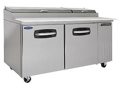 Nor-Lake 67In Refrigerated Pizza Prep Table - Nlpt67