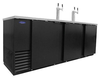 Nor-Lake 39.2cuft Five Keg Refrigerated Direct Draw Beer Cooler - NLDD95