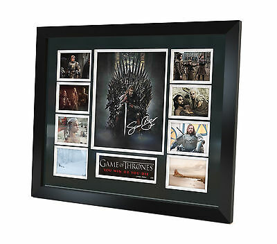 Game of Thrones - Signed Photo - Memorabilia - Framed - Limited Edition