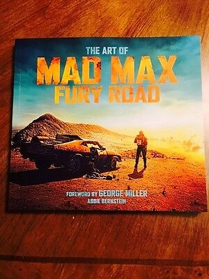 The Art of Mad Max: Fury Road by Bernstein, Abbie - Loot Crate DX Exclusive, New