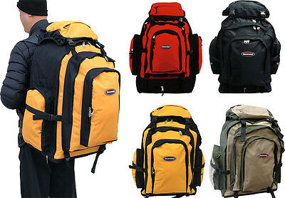 "New 26""Expandable Extra Large Durable Expandable Travel,Camping,Hiking Backpack"