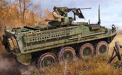 Trumpeter M1131 Stryker Fire Support Vehicle FSV US UNITED STATES model kit 1:35