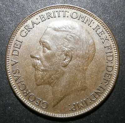 Penny 1927 - about UNC but not much lustre