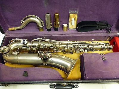 Wurlitzer Low Pitch Saxophone Antique Vintage Very Good Condition s/n:57039 Used