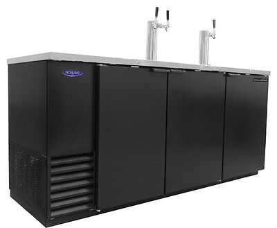Nor-Lake 30.8Cuft Four Keg Refrigerated Direct Draw Beer Cooler - Nldd79