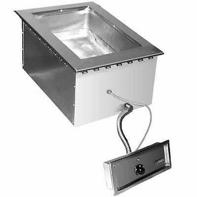 Eagle Group SGDI-1-120T Drop-in Wet or Dry Type Hot Food Well Unit - 120v
