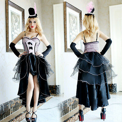 Ladies Adult Fairytale Queen Of Hearts Fancy Dress Costume Halloween Outfit New