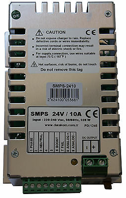 DATAKOM SMPS-1210 Generator Battery Charger / 12V/10A DC power supply