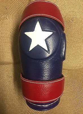 Polo TEXAS LONE STAR Knee Guards 2-Strap Rodilleras Polo Knee Pad Large