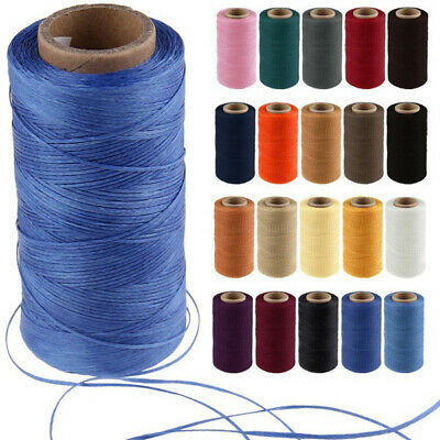 284Yards 260M 1mm 150D Waxed Wax Thread String Cord for Leather Stitching DIY