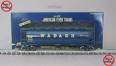 American Flyer (High Rail) 6-48661 Wabash Cylindrical Hopper Car