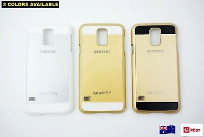 Phone Case Cover Protector Hard - Suits Samsung Galaxy S5 - Four Colours (D30)