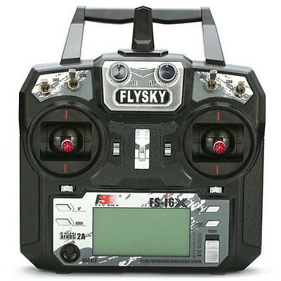 Flysky FS-i6X 10CH AFHDS 2A FS-IA6B Transmitter for RC Quadcopter Drone