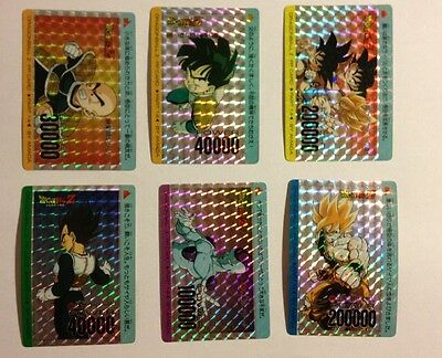Dragon Ball Z PP Card PART 14 Prism Set 6/6