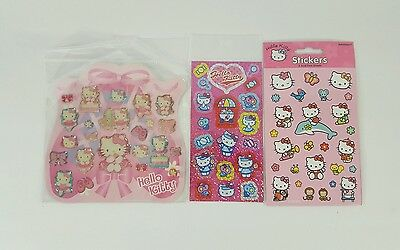 Hello Kitty by Sanrio Stickers Assortment 3 packs