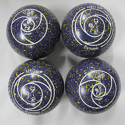 Aero Dynamic Size 1H/W Gripped Bowls Purple/Gold Speckled