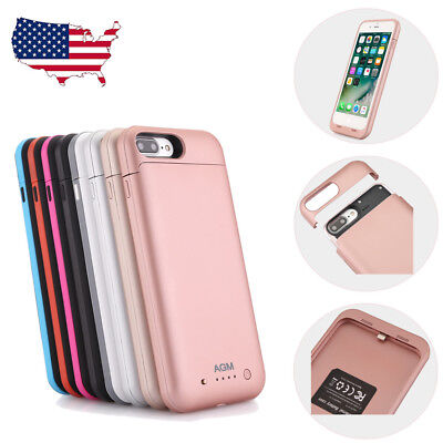 Portable External Battery Charger Charging Case Power Pack For iPhone 7 8 plus X