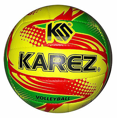 Karez PVC Hand Stitch Volleyball Training Volley Ball 18 Panel - Size 4