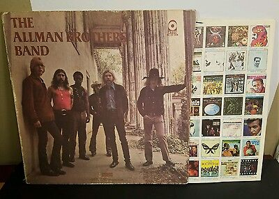 THE ALLMAN BROTHERS BAND LP Record ATCO YELLOW SD 33-308 Gatefold **VG+**