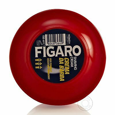 Figaro Shaving Shaving Soap Pot (Red) 150ml