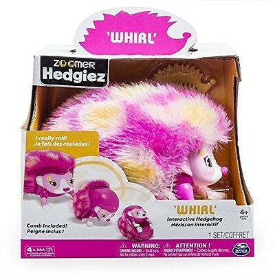 """Zoomer 6031225 """"Hedgiez Whirl"""" Electronic Toy"""