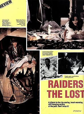 Raiders Of The Lost Ark Movie Review & Picture(S) (Harrison Ford & Karen Allen)