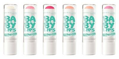NEW Maybelline Baby Lips Dr Rescue Lip Balm - You Choose - Mediated Soothes