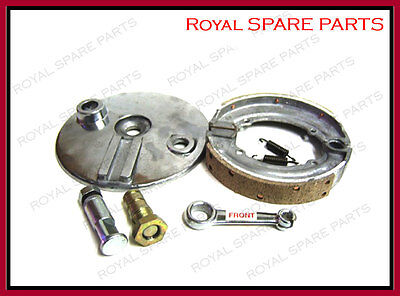 """Brand New Royal Enfield Complete 6"""" Front Brake Assembly - High Quality"""