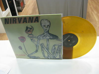 Nirvana Lp Incesticide Limited Edition Yellow Vinyl