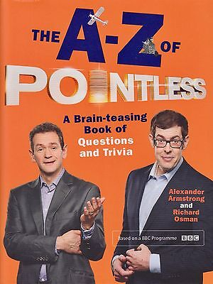 The A-Z of Pointless BRAND NEW BOOK by Armstrong & Osman (Hardback 2015)