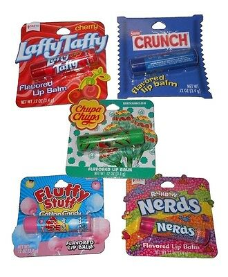NEW Taste Beauty Lip Balm Nestle Nerds Pez Fun Dip Candy Chocolate Gift SALE