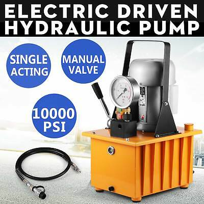 Electric Driven Hydraulic Pump 10000Psi Single Acting Dyb-63B Excellent Great