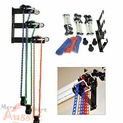 Photo 3 Roller Wall Mount Manual Backdrop Background Support System Adjustable