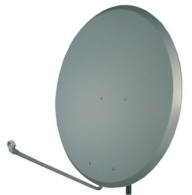 SAC 1.2m / 120cm Charcoal Satellite Dish. Extremely powerful dish! Pole mounted