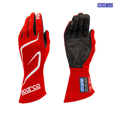 Sparco Race Gloves LAND RG-3.1 red (with FIA homologation) - Genuine - 12